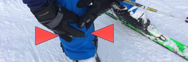 Die Stiefelrandprellung beim Skifahren